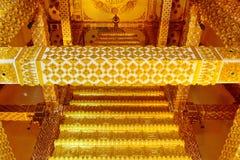 Wat Phra That Nong Bua nordost av Thailand Fotografering för Bildbyråer