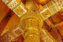Wat Phra That Nong Bua nordost av Thailand Royaltyfria Bilder