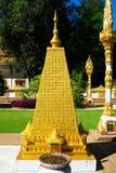 Wat Phra That Nong Bua nordost av Thailand Arkivbild