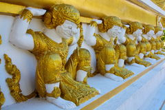 Wat Phra That Nong Bua, Northeast of Thailand. Royalty Free Stock Image