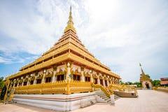 Wat Phra That Nong Wang Khon Kaen, Tailandia foto de archivo