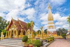 Wat Phra That Panom-tempel Stock Afbeelding