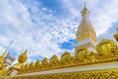 Wat Phra That Panom temple. Wat Phra That Panom temple in Nakhon Phanom, Thailand Stock Photos