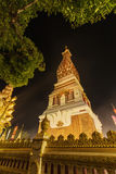 Wat Phra That Panom temple at night, Nakhon Phanom, Thailand. Stock Image