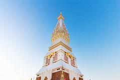 Wat Phra That Panom temple, Thailand. Royalty Free Stock Photography
