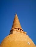 Wat Phra Pathom Chedi,最高的stupa在世界上,意想不到的佛教大厦在佛统 库存图片
