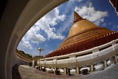 Wat Phra Pathom Chedi, Nakhon Pathom Imagen de archivo