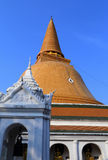 Wat Phra Pathom Chedi Stock Images