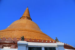 Wat Phra Pathom Chedi Stock Photography