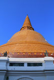 Wat Phra Pathom Chedi Royalty Free Stock Photo