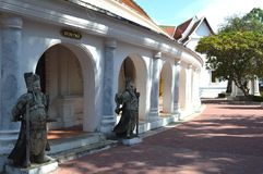 Wat Phra Pathommachedi Ratcha Wora Maha Wihan, Thailand. The important buddhist temple of Nakhon Pathom province, Thailand Royalty Free Stock Photography