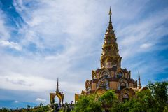Wat Phra That Pha Kaew Public temple Royalty Free Stock Images