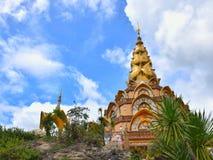 Wat Phra That Pha Son Kaew stockbild