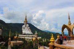 Wat Phra That Pha Son Kaew Imágenes de archivo libres de regalías