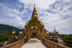 Wat Phra That Pha Son Kaew chez Khao Kho Petchabun Photo stock