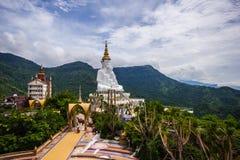 Wat Phra That Pha Son Kaew a Khao Kho Petchabun immagini stock libere da diritti