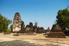 Wat Phra Phai Luang in Sukhothai Historical Park Stock Images