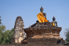 Wat Phra Phai Luang. In Sukhothai Historical Park (Thailand Royalty Free Stock Photo