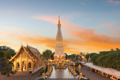 Wat Phra That Phanom. Wat: Wat Phra That Phanom stock images