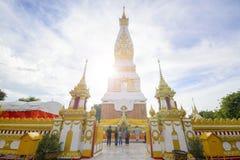 Wat Phra That Phanom en el provience de Nakorn-pranom, imagen de archivo