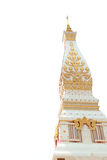 Wat Phra That Phanom-tempel, de Provincie van Nakhon Phanom stock fotografie