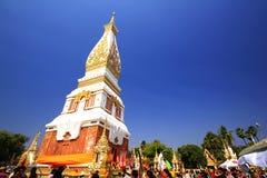 Wat Phra That Phanom Woramahawihan. Nakhon Phanom Province Built between 1200-1400 royalty free stock photo