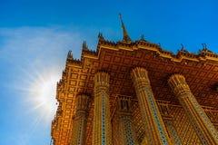 wat phra phutthabat beroemde oude boeddhistische tempel gevestigde I Royalty-vrije Stock Afbeeldingen