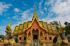 Wat Phra phutthabat SI Roy. Phra phutthabat SI Roy temple in Chiangmai,Thailand Stock Photography
