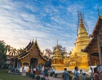 Wat Phra ?piewa w Chiang Raja, Tajlandia zdjęcia stock