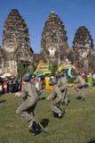 Wat Phra Prang Sam Yot immagine stock