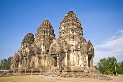 Wat Phra Prang Sam Yot Royalty Free Stock Photography
