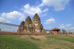 Wat Phra Prang Sam Yot temple Stock Images