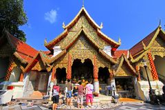 Wat Phra que Doi Suthep, Chiang Mai, Tailândia Fotos de Stock