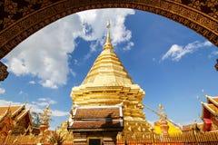 Wat Phra que Doi Suthep, Chiang Mai, Tailandia Imagen de archivo libre de regalías