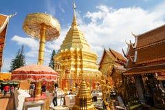 Wat Phra que Doi Suthep, Chiang Mai, Tailandia Foto de archivo libre de regalías