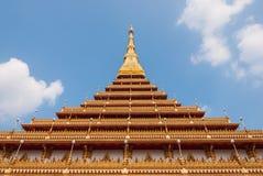 Wat Phra quel Chedi di Khonkaen Thailand2 Fotografie Stock Libere da Diritti