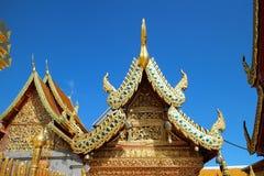 Wat Phra quel Doi Suthep Fotografie Stock Libere da Diritti