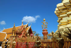 Wat Phra quel Doi Suthep Immagine Stock