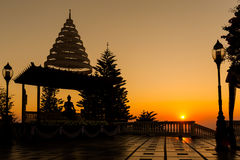Wat Phra quel Doi Suthep Fotografia Stock Libera da Diritti