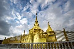 Wat Phra quel tempio di Doi Koeng Fotografia Stock