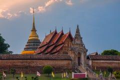 Wat Phra quel tempio di Lampang Luang Immagini Stock
