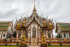 Wat Phra Rahu temple Nakhon Pathom Royalty Free Stock Photography