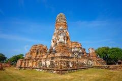 Wat Phra Ram寺庙在Ayuthaya历史公园,泰国 图库摄影
