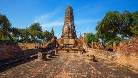 Wat Phra Ram寺庙在Ayuthaya历史公园,泰国 免版税图库摄影