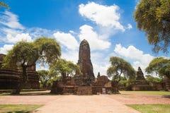 Wat Phra Ram Foto de archivo libre de regalías