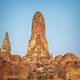 Wat Phra Ram Ayutthaya Stock Image