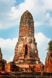 Wat Phra Ram im Komplex des buddhistischen Tempels in Ayutthaya nahe Bangkok thailand Stockbild