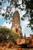 Wat Phra Ram im Komplex des buddhistischen Tempels in Ayutthaya nahe Bangkok thailand Lizenzfreies Stockfoto