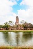 Wat Phra Ram im Komplex des buddhistischen Tempels in Ayutthaya nahe Bangkok thailand Lizenzfreies Stockbild