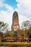 Wat Phra Ram im Komplex des buddhistischen Tempels in Ayutthaya nahe Bangkok thailand Stockfoto